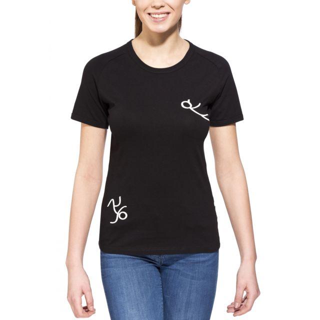 Edelrid - Rope - T-shirt manches courtes Femme - noir - pas cher Achat    Vente Chemises, tee-shirts, débardeurs - RueDuCommerce 0c687bd2377e