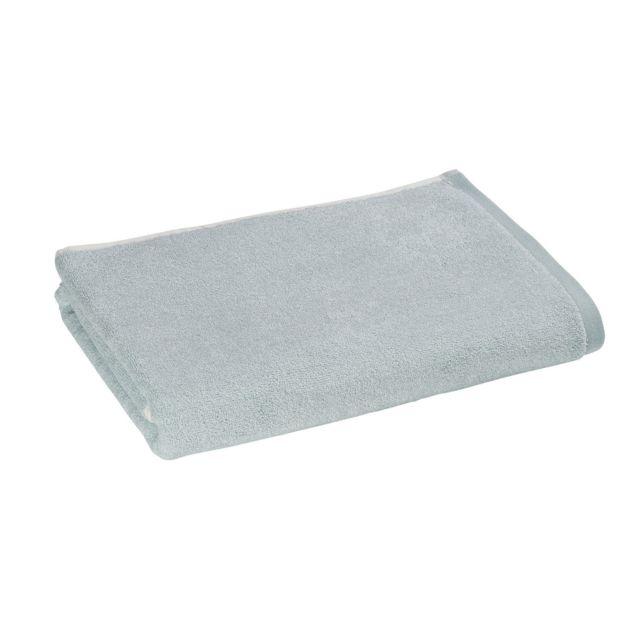 tex home drap de douche chinee unie en coton vert 140cm x 70cm pas cher achat vente. Black Bedroom Furniture Sets. Home Design Ideas