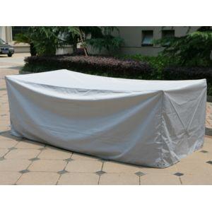 Hesperide housse de protection pour table rectangulaire - Housse protection table jardin rectangulaire ...