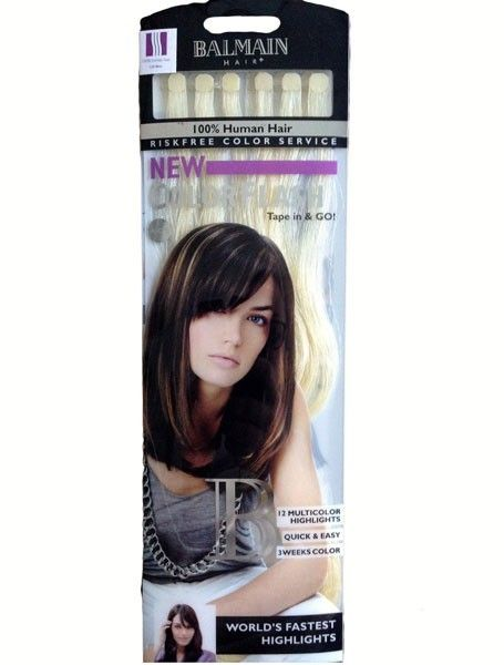 new product wide range new styles Balmain Hair - Color flash Balmain - 40 cm -extension Bande ...