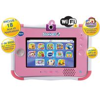 VTECH - Tablette Strorio 3S rose sans Power Pack 158855