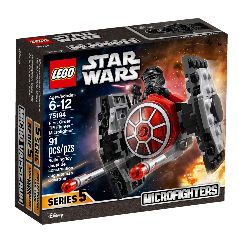 75194 Star Wars - Microfighter Chasseur TIE du Premier Ordre