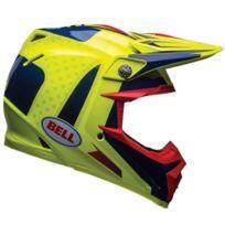 BELL - Moto-9 Flex Carbon Vice Blue Yellow