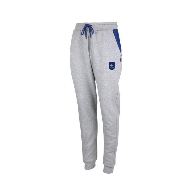 5e217b190f705 Made In Sport - Pantalon Molleton France Fff Fan Gris Junior - pas ...