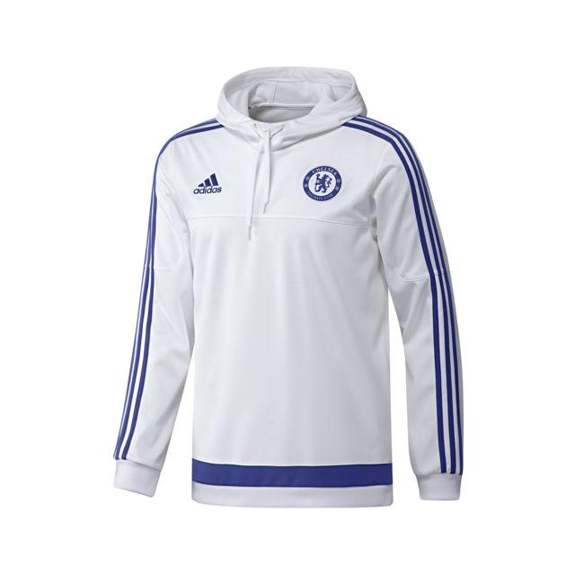 Adidas performance Sweat Shirt à Capuche Chelsea Blanc