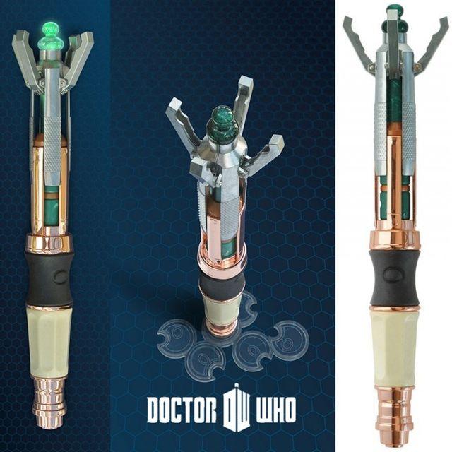 Kas Design Télécommande Universelle Tournevis Sonique 12ème Dr Who