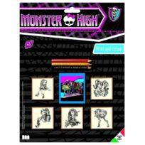Multiprint - 5869 - Loisir CrÉATIF - Blister - 5 Tampons - Monster High