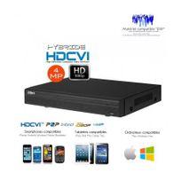 Dahua - Enregistreur hybride 4 Mp Full 1080P 16 +8 canaux de video surveillance Hdcvi