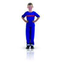 Rubie's - Déguisement Sapeur Pompier - Enfant - Taille : 5/7 ans 108 à 120cm