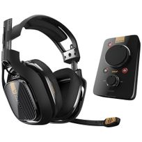 ASTRO GAMING - ASTRO A40 TR + MixAmp Pro TR Dolby 7.1 - Noir