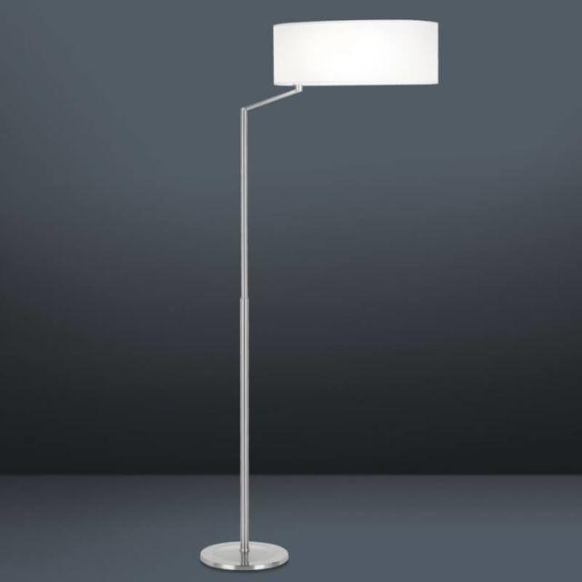 Leds C4 Lampadaire orientable Twist H166 cm - Blanc