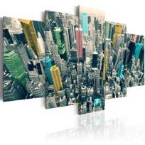 Artgeist - Tableau   Le gris animé de la journée   200x100   Xxl   Villes   New York   Ny
