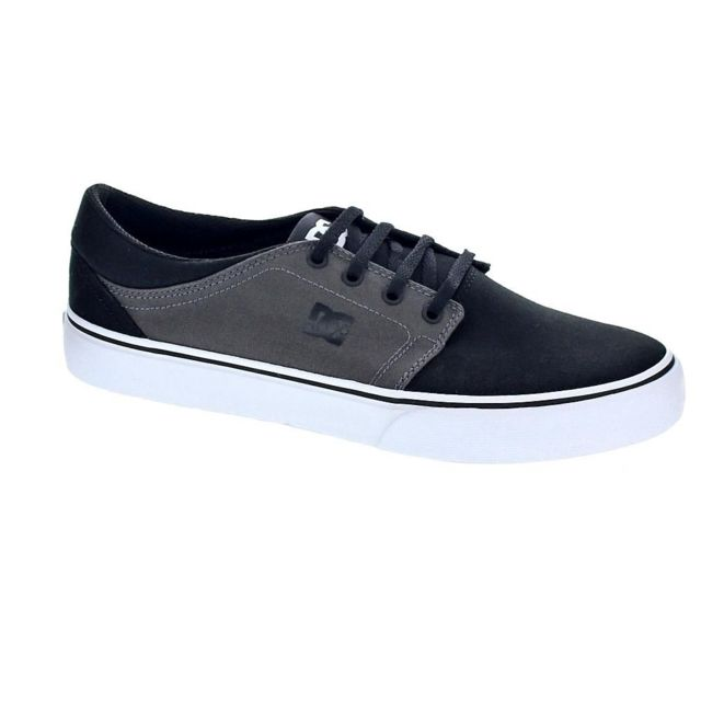 Dc - Chaussures Shoes Homme Baskets basses modele Trase Tx Gris