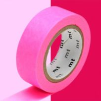 Mt - Masking Tape Basic Rose Fluo