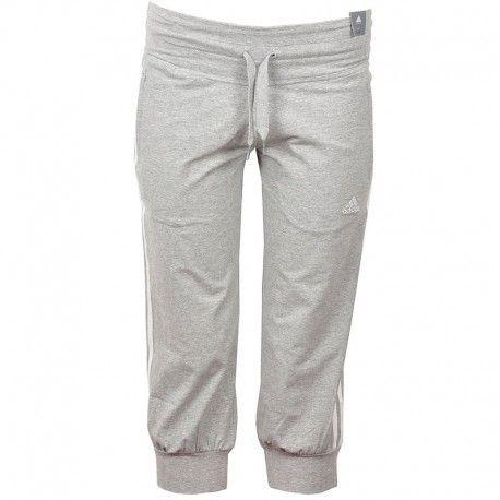 Gris 3s Adidas Originals Pantalon 34 Ess Femme Entrainement QdCthxsorB