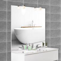 Creazur - Miroir avec applique Mircoline - 140 cm + appliques