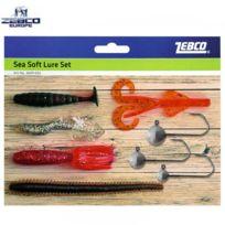Zebco - Kit Leurres Souples Sea Soft Lure Set