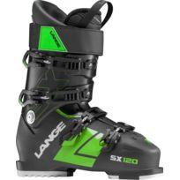 Lange - Chaussures De Ski Sx 120 tr. Black-green, Homme