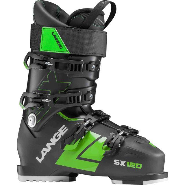 Lange - Chaussures De Ski Sx 120 tr. Black-green, Homme Noir
