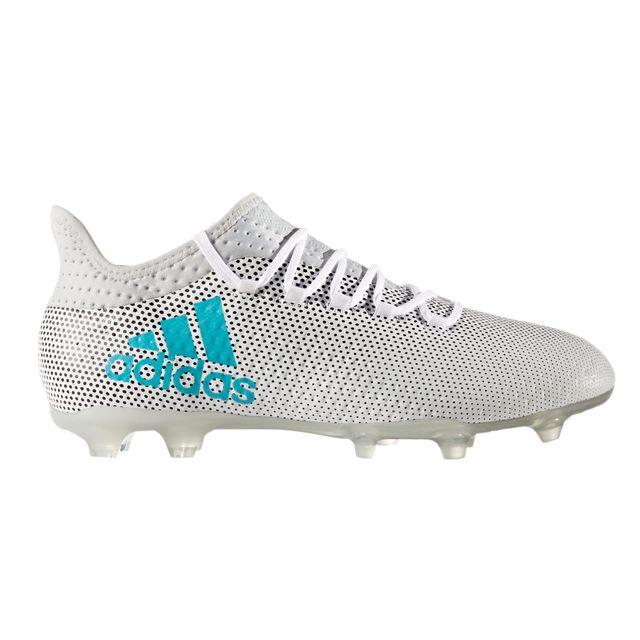 Chaussures football Adidas X 17.2 Fg Blanc