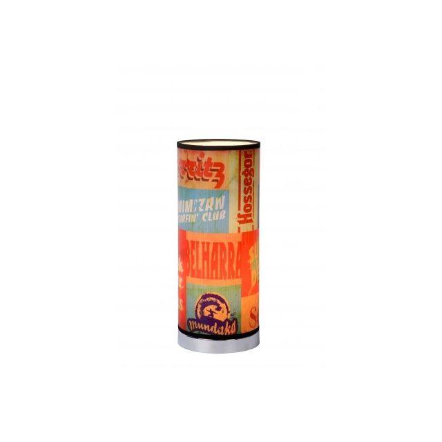 Lucide Che - Lampe De Table - D15 cm - Multicolor