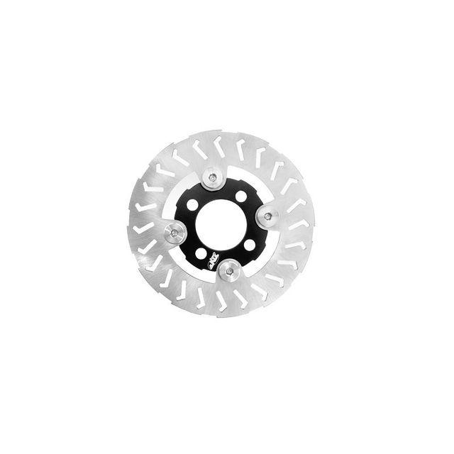 wacox disque de frein avant flottant a 180 couleur noir adaptable booster pas cher achat. Black Bedroom Furniture Sets. Home Design Ideas