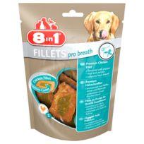 8IN1 - Friandises Filets Poulet Pro Breath S pour Petit Chien