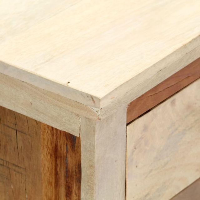 Icaverne - Buffets & bahuts gamme Armoire latérale 60 x 30 x 75 cm Bois de récupération massif