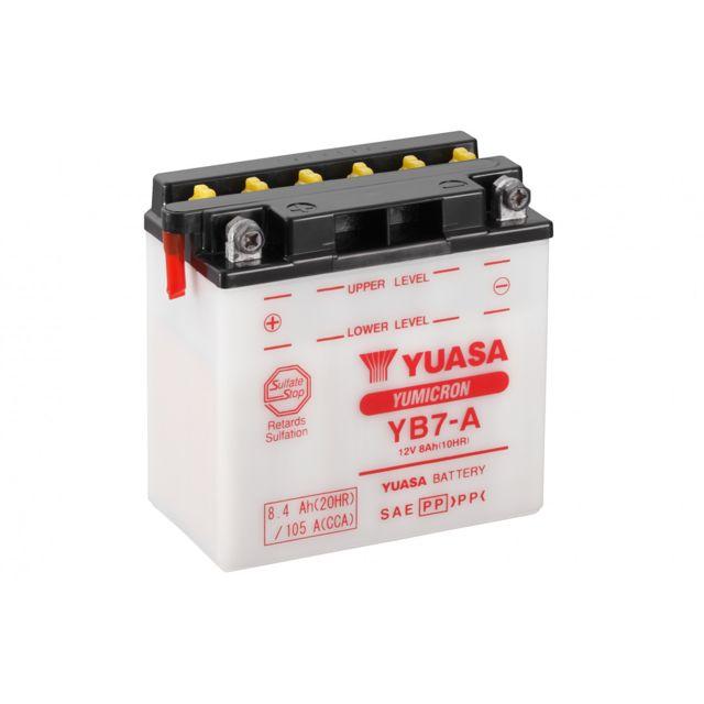Yuasa YB7-A Batterie de Moto