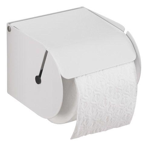 Jvd Distributeur Papier Toilette Rouleau Métal Blanc Pas Cher