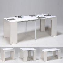 No Name - Table extensible Nova 45-90-135-180 cm / Blanc