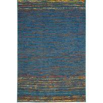 Hispania - Tapis Coimbra Azul 172 laine vierge 100% Dim. 200 x 250cm