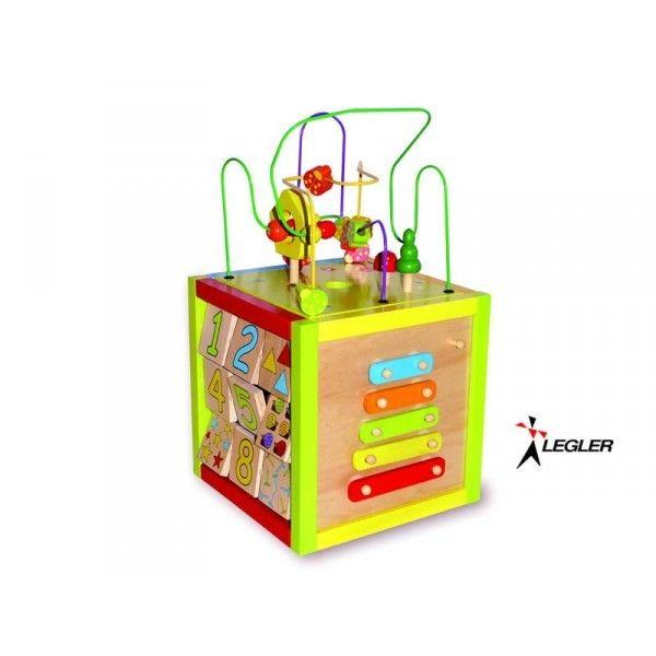 get cheap newest crazy price Jeux en bois: Cube d activités bois