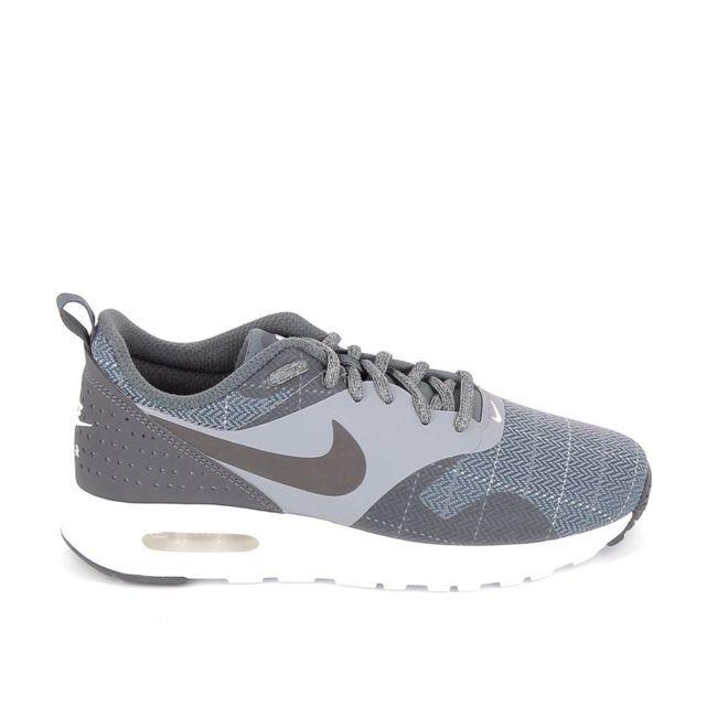huge discount dddb6 9779d Nike - Air Max Tavas Se Jr Gris - pas cher Achat   Vente Baskets enfant -  RueDuCommerce