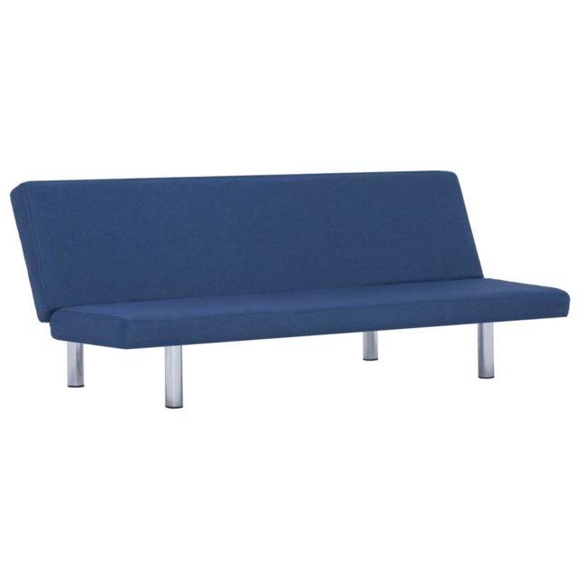 Icaverne - Canapés ligne Canapé-lit Bleu Polyester