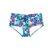 Marie Meili - Bas de maillot de bain Culotte taille haute Samoa Hipster Multicolore
