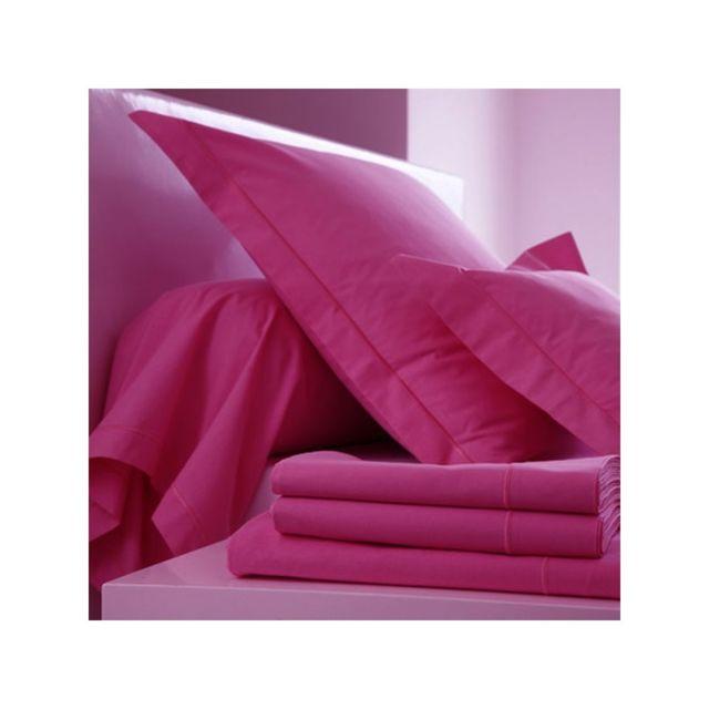 linge usine drap housse 120 x 200 fuchsia bonnet 27 120cm x 200cm pas cher achat vente. Black Bedroom Furniture Sets. Home Design Ideas