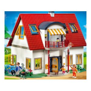 playmobil villa moderne 4279 pas cher achat vente playmobil rueducommerce. Black Bedroom Furniture Sets. Home Design Ideas