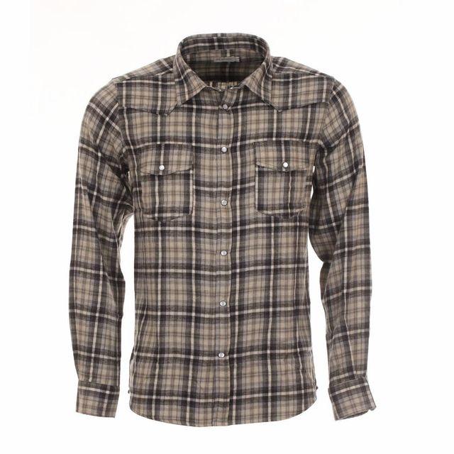 266e8f65462d Chemise carreau blanc gris noir - catalogue 2019 -  RueDuCommerce ...