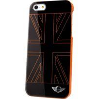 Mini - Coque noire drapeau Uk orange pour iPhone 5C