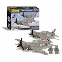 Best-Lock - 01646 - 2 Spitfire Flugzeuge Und 2 Figuren 160 Teile