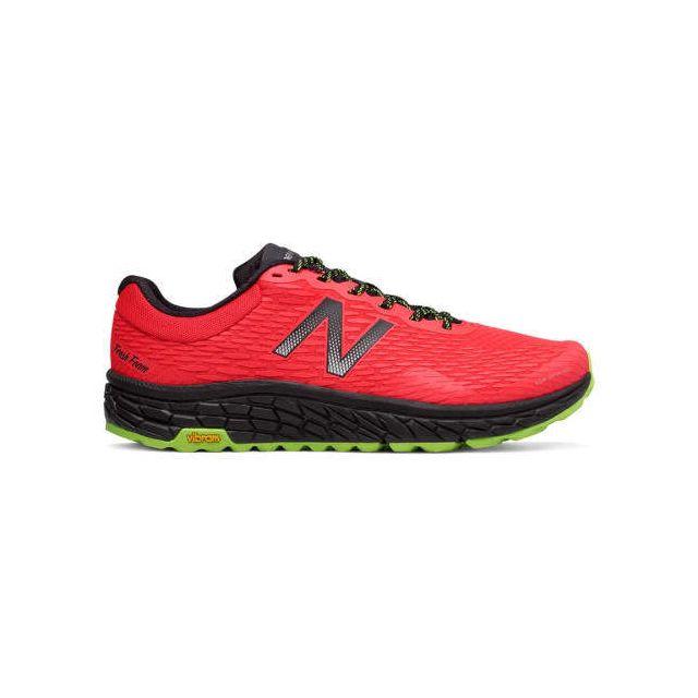 d99b0249d38 New Balance - Chaussures Fresh Foam Hierro v2 rouge vert - pas cher ...