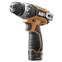 Aeg - Bs 12 C2 2x1,5 Ah Pro Li, Perceuse-visseuse sans fil