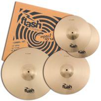 Flash - Impact Series 368 set de cymbales, laiton