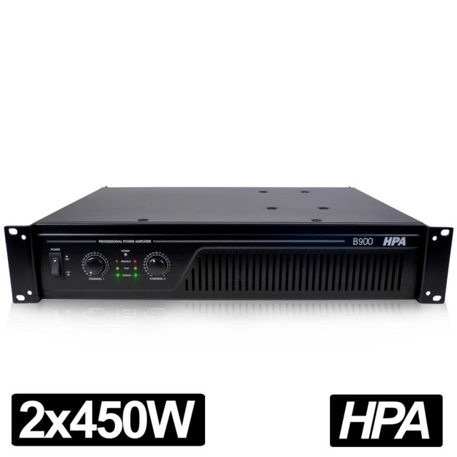 Hpa Amplificateur pro Dj Sonorisation 900W Rms