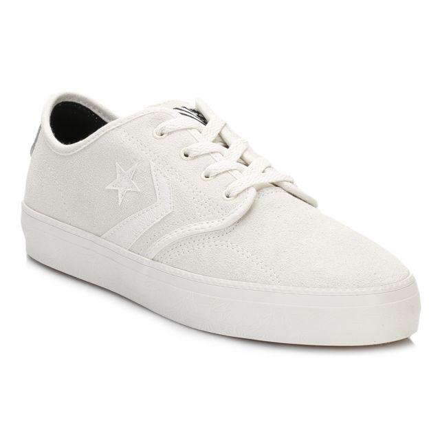 Converse CONS ZAKIM SUEDE OX Gris Noir Chaussures Baskets
