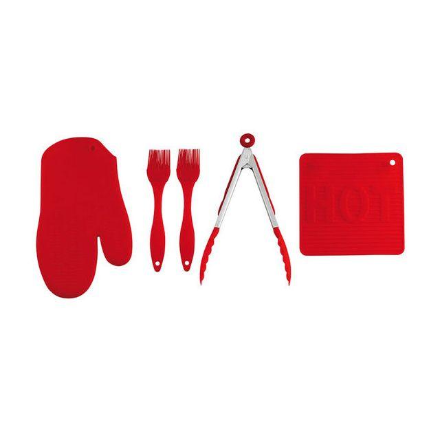 Kitchen Artist Set de 5 accessoires de Cuisine en Silicone