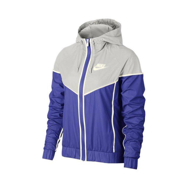 51ce6b783831b Nike - Veste de survêtement Sportswear Windrunner - 883495-518 - pas cher  Achat / Vente Survêtement femme - RueDuCommerce