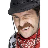 Smiffy'S - Moustache de cowboy