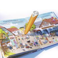 Ravensburger - Coffret complet tiptoi lecteur interactif et livre